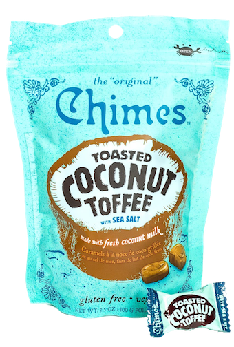 Toasted Coconut Toffee - Chimes