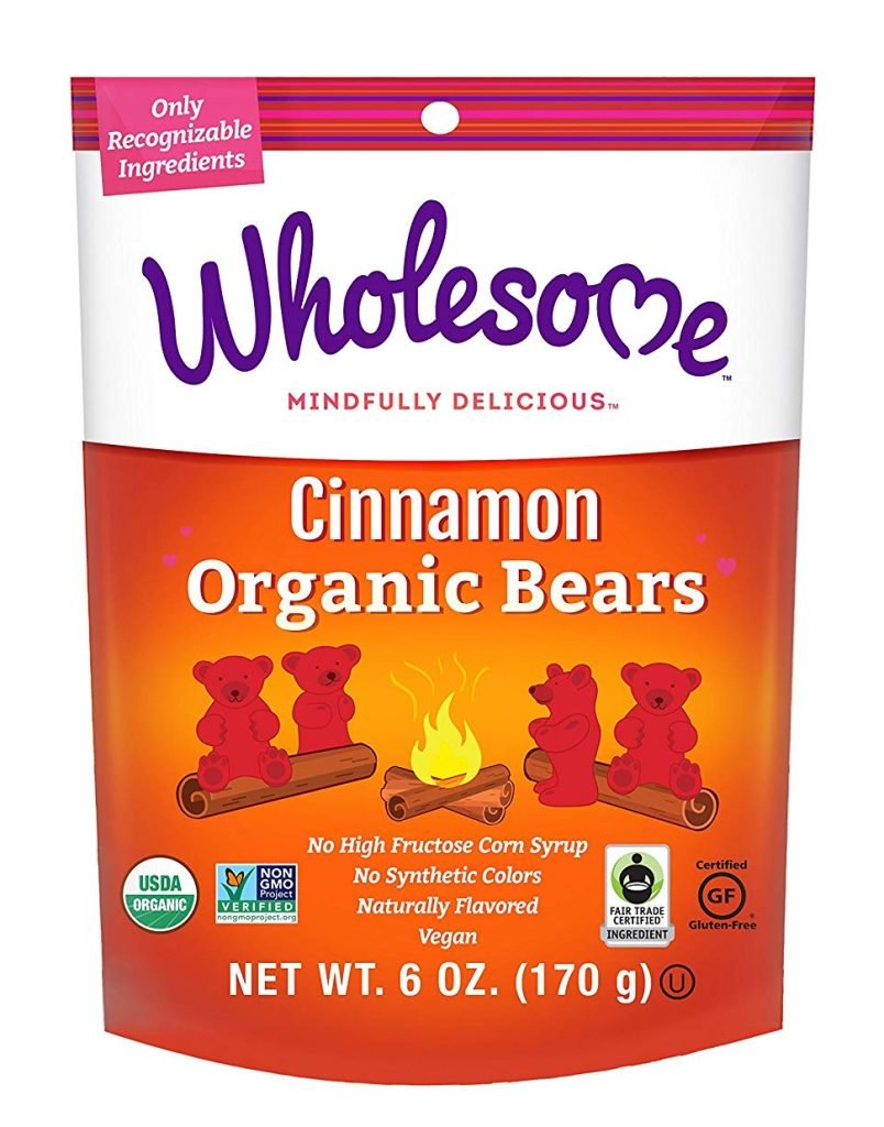 Cinnamon Organic Bears by Wholesome