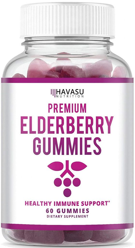 Premium Elderberry Gummies from Havasu