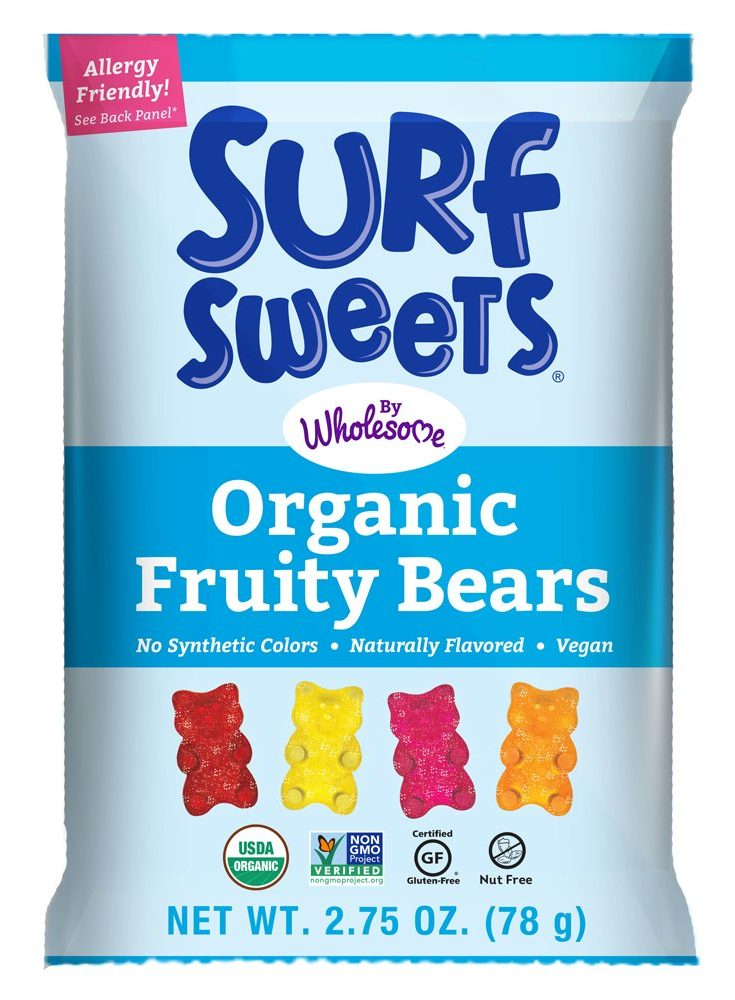 Surf Sweets - Organic Fruity Bears by Wholesome