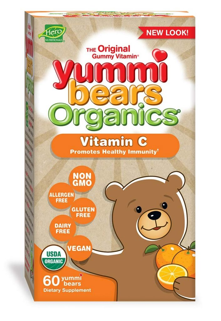 The Original Gummy Vitamin: Yummi Bears Organics by Hero Nutritionals