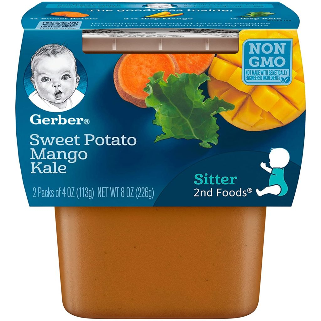 Gerber - Sweet Potato, Mango & Kale